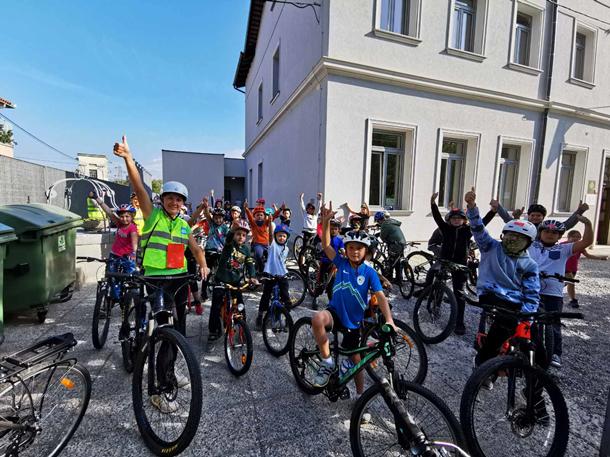 Evropski šolski športni dan na Podružnični šoli Bilje